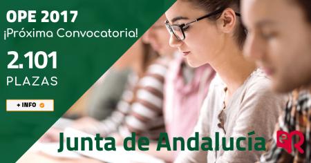Junta Andalucía OPE 2017. Ediciones Rodio.