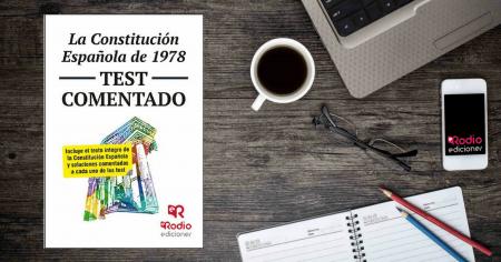 Test Constitución Española Temarios Oposiciones Rodio