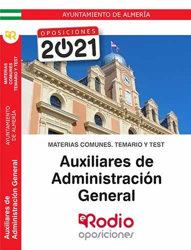 Auxiliar Administrativo Almería oposiciones Ediciones Rodio