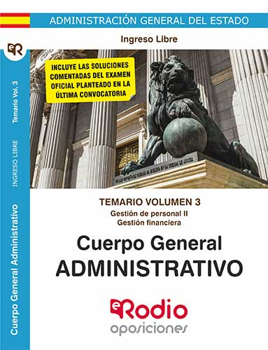 Administrativos del Estado. oposiciones Ediciones Rodio