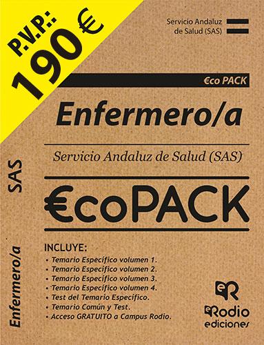 Pack Enfermeros del SAS. Temarios Oposiciones Ediciones Rodio.