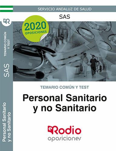 Temario Común Personal Sanitario y no Sanitario oposiciones SAS Ediciones Rodio