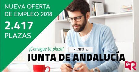 Junta de Andalucía, nueva previsión de fechas para las convocatorias.