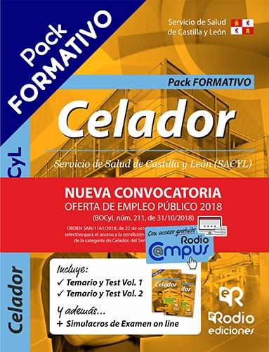 Temarios Oposiciones Celadores del SACYL Ediciones Rodio