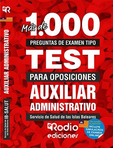 temario oposiciones test auxiliar administrativo ibsalut baleares rodio