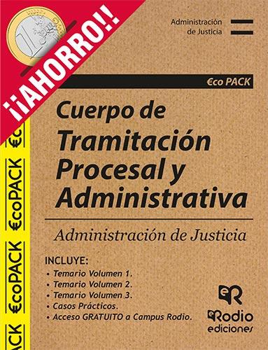 Pack Temarios Oposiciones Tramitación Procesal Ediciones Rodio