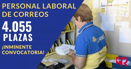 Correos nueva convocatoria. Ediciones Rodio.