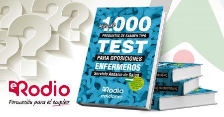 Enfermeros Test de oposiciones Ediciones Rodio