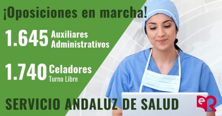 Auxiliar de Enfermería del SAS. ¡4.174 plazas Convocadas!