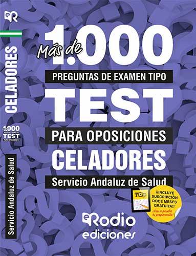 Celadores. Servicio Andaluz de Salud. Test oposiciones Ediciones Rodio.
