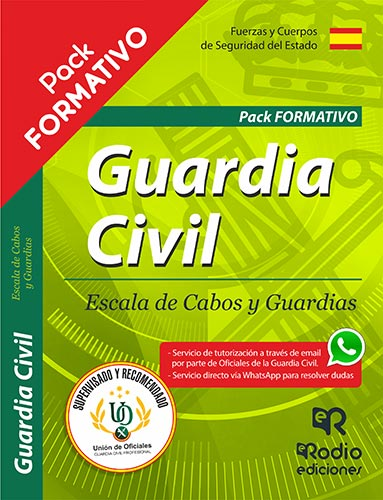 Pack Guardia Civil 2019. Oposiciones Ediciones Rodio