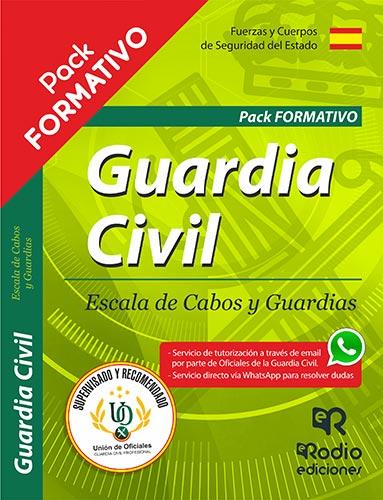 Pack Guardia Civil 2019. Oposiciones Ediciones Rodio
