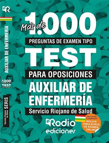 Auxiliar de Enfermería del SERIS. Oposiciones Ediciones Rodio.