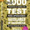 Auxiliar Enfermería Aragón. Oposiciones Ediciones Rodio.