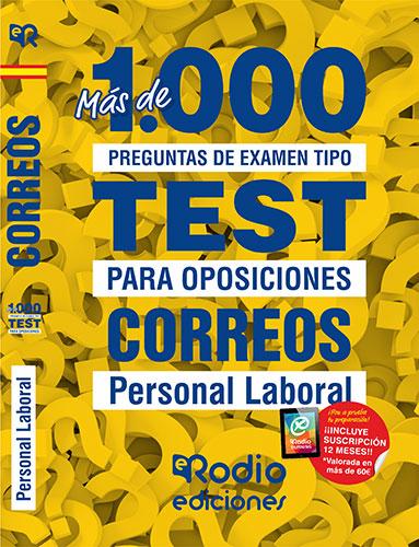 Test Correos oposiciones Ediciones Rodio