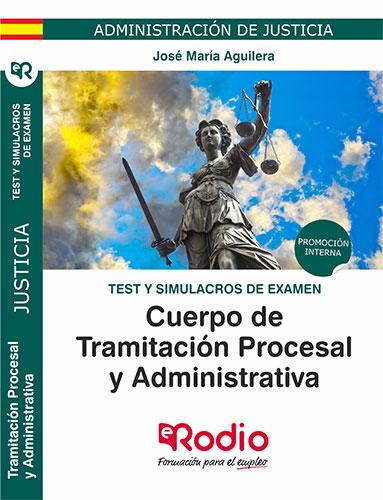 temario oposiciones test simulacros tramitacion procesal rodio