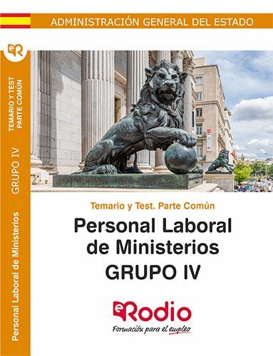 temarios oposiciones personal laboral ministerios rodio