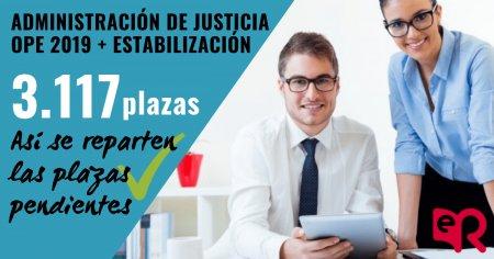 Oposiciones Justicia Oferta 2019