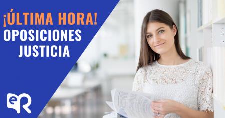 Más plazas en Justicia. Oferta 2019.