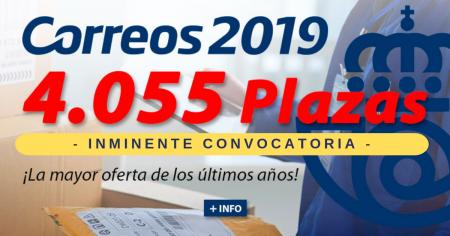 Convocatoria Correos 2019 oposiciones Ediciones Rodio