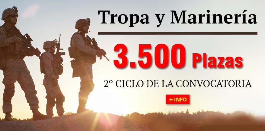 Tropa y Marinería 2º ciclo oposiciones