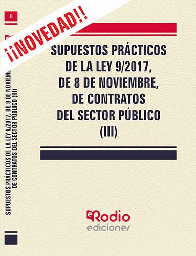 Temarios oposiciones ley 9/2017 contratos sector publico Ediciones Rodio