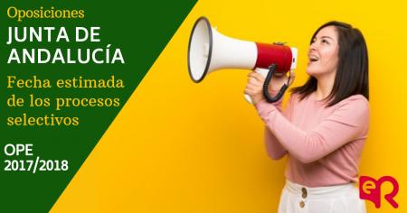 Junta de Andalucía publica la previsión de fechas