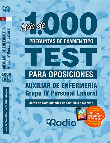 Auxiliar de Enfermería Castilla la Mancha oposiciones