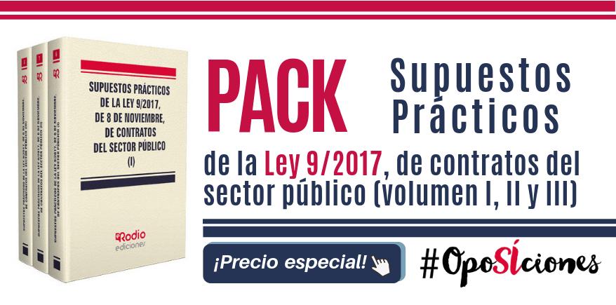 Pack ley 9_2017 de contratos oposiciones