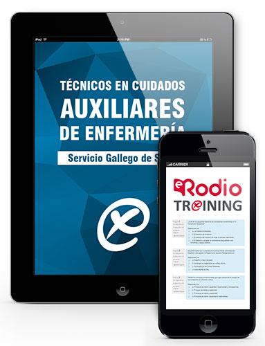 test oposiciones online auxiliar enfermeria sergas rodio training