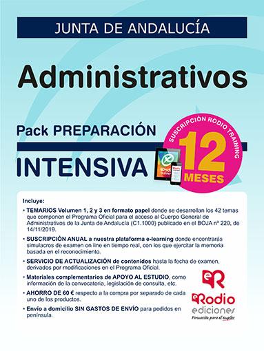 Administrativo Junta de Andalucía oposiciones Ediciones Rodio
