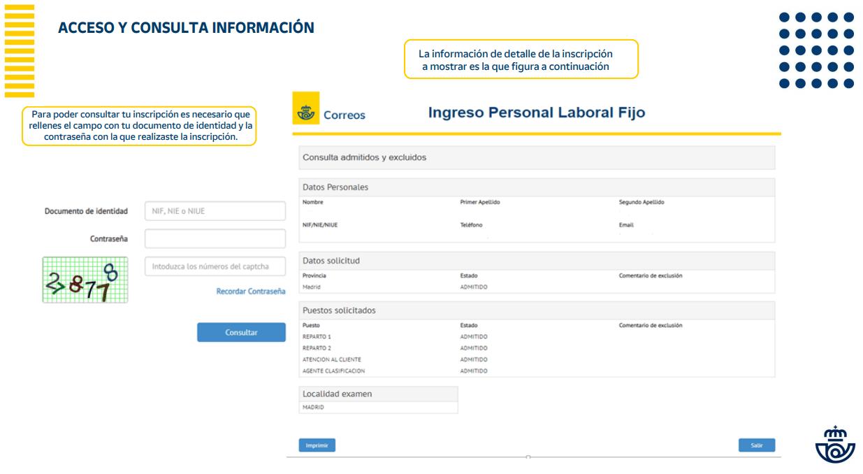 Oposiciones Correos. Consulta información_1