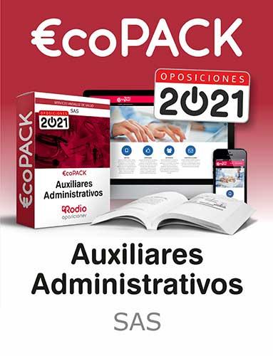 pack Auxiliar Administrativo SAS oposiciones Rodio