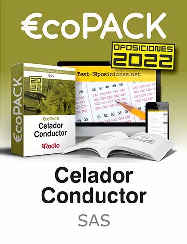 €co Pack Celador Conductor del SAS. Oposiciones Ediciones Rodio.