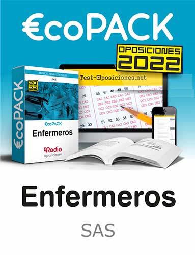 €co Pack Enfermero Enfermera del SAS. Oposiciones Ediciones Rodio.