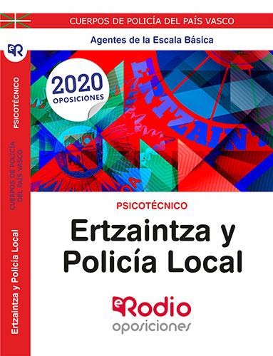 Psicotécnico Ertzaintza y Policía Local Páis Vasco temarios oposiciones rodio
