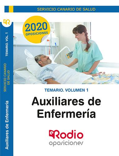 temarios oposiciones auxiliar enfermeria canarias rodio