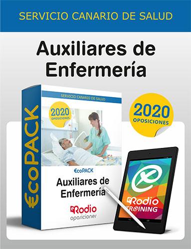 Pack Auxiliar de Enfermería Canarias oposiciones Ediciones Rodio