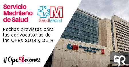 Servicio Madrileño de Salud oposiciones Ediciones Rodio