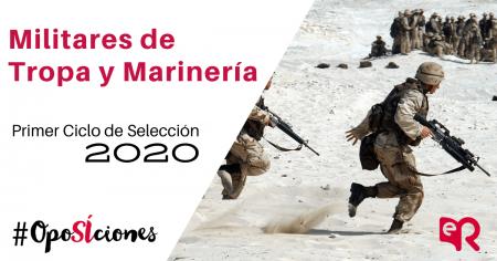 Selección militares de Tropa y Marinería 2020 oposiciones Ediciones Rodio.