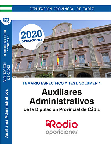Auxiliar Administrativo Diputación de Cádiz.