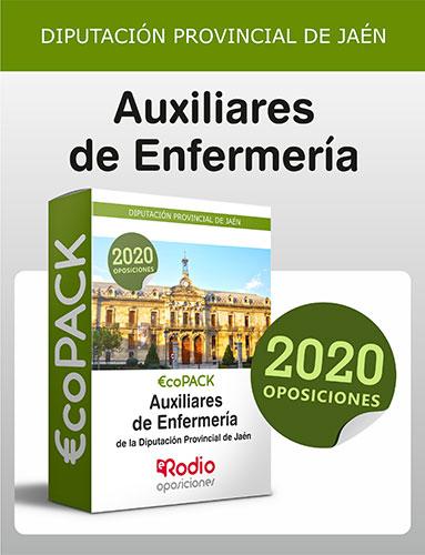 Auxiliar de Enfermería Jaén oposiciones Ediciones Rodio