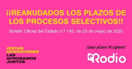 Servicio Andaluz de Salud: Nuevas plazas pendientes OPE 2017/2018.