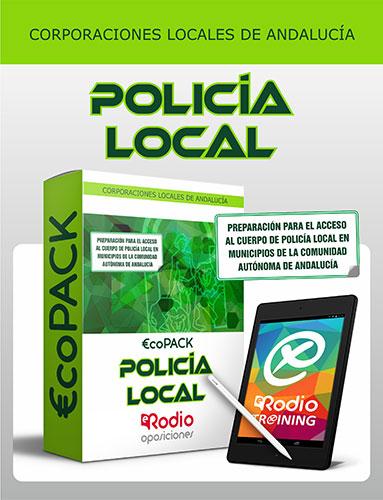 oposiciones Policía Local Andalucía Temario Test
