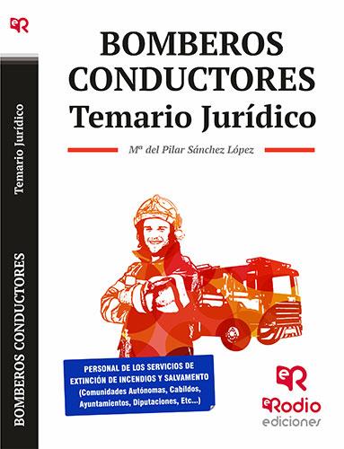 Bombero Conductor temario jurídico