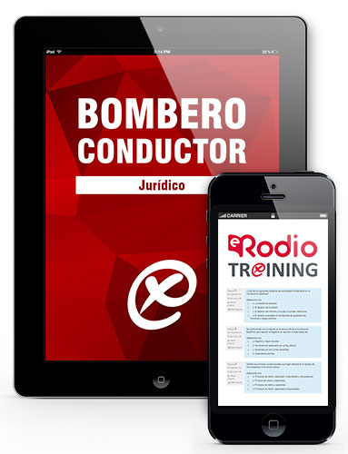 training bombero conductor rodio
