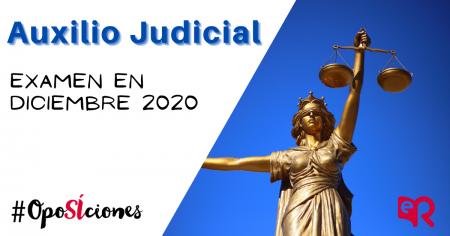 Auxilio Judicial 2020 oposiciones