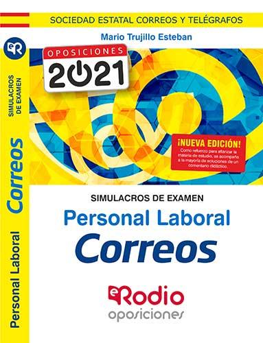 simulacros examen correos oposiciones actualizado Ediciones Rodio