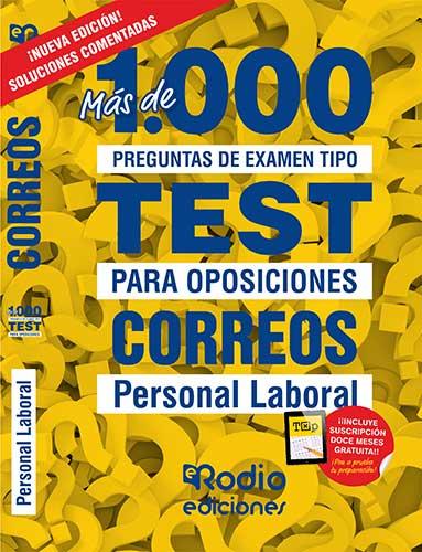Test oposiciones Correos Ediciones Rodio