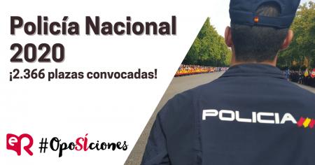 Policía Nacional 2020